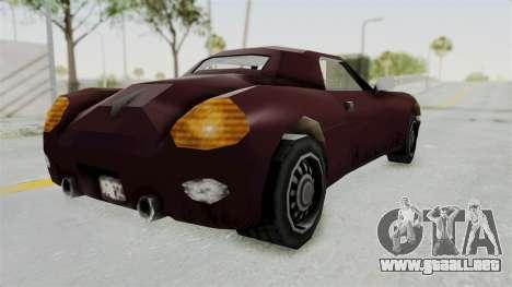 GTA 3 Stinger para GTA San Andreas left