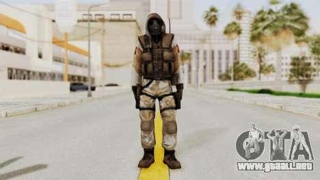 Hodeed SAS 10 para GTA San Andreas segunda pantalla