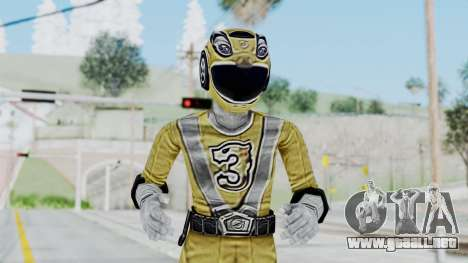Power Rangers RPM - Yellow para GTA San Andreas