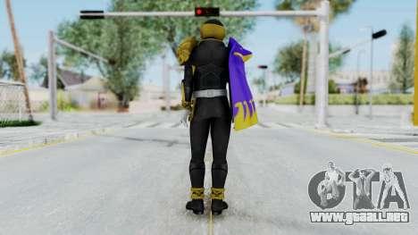 Kamen Rider Beast Dolphi para GTA San Andreas tercera pantalla