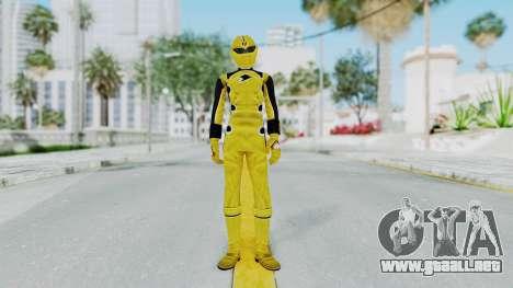 Power Rangers Jungle Fury - Yellow para GTA San Andreas segunda pantalla