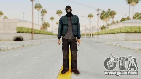 Wanted Weapons Of Fate Chicago Grunt Masked para GTA San Andreas segunda pantalla