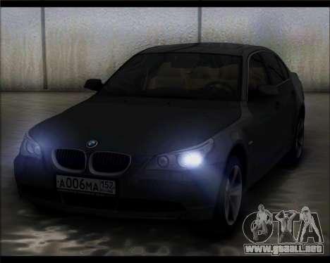 BMW 530xd stock para GTA San Andreas
