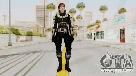 Mass Effect 3 Female Shepard Ajax Armor para GTA San Andreas segunda pantalla