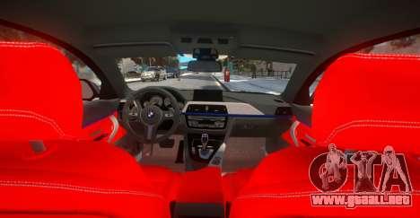 BMW 435i Coupe para GTA 4 vista hacia atrás