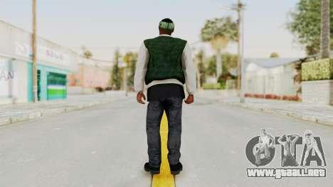 GTA 5 Families Gang Mamber 1 para GTA San Andreas tercera pantalla
