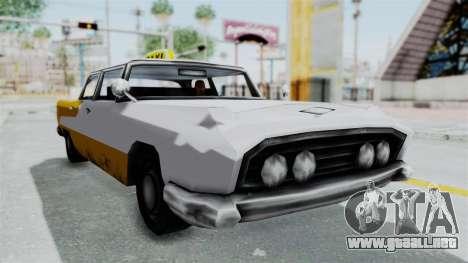 GTA VC Oceanic Taxi para la visión correcta GTA San Andreas
