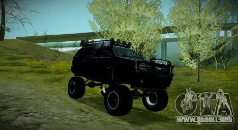 Chevrolet Tahoe LTZ 4x4 para la visión correcta GTA San Andreas