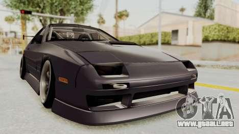 Mazda RX-7 1990 (FC3S) Cordelia Glauca Itasha para la visión correcta GTA San Andreas
