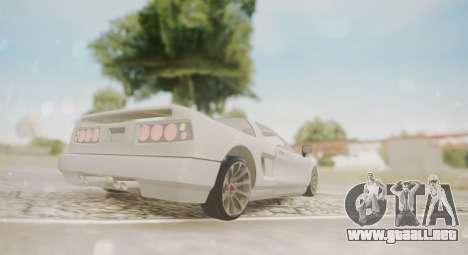 Infernus para la visión correcta GTA San Andreas