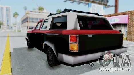 VCS Gang Rancher para GTA San Andreas left