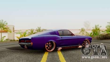 Ford Mustang Fast_back para GTA San Andreas left