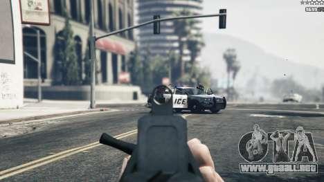GTA 5 TAR-21 octavo captura de pantalla