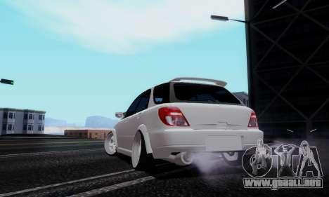 Subaru Impreza WRX STi Wagon Stens para GTA San Andreas left