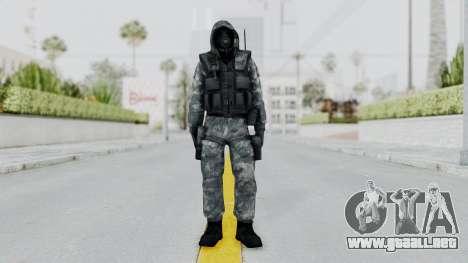 Hodeed SAS 5 para GTA San Andreas segunda pantalla