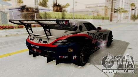 Mercedes-Benz SLS AMG GT3 PJ1 para las ruedas de GTA San Andreas