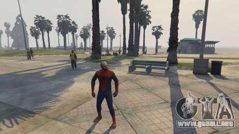 GTA 5 Amazing Spiderman cuarto captura de pantalla
