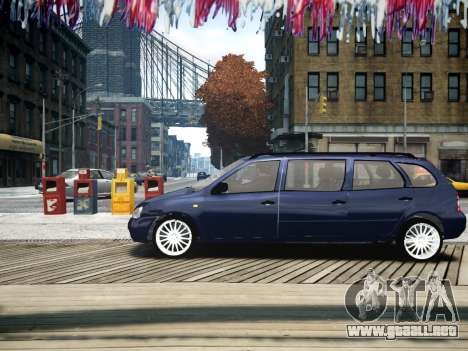 VAZ Kalina 1117 7-puerta para GTA 4 left