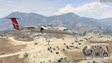 GTA 5 Bombardier Dash 8Q-400 sexta captura de pantalla