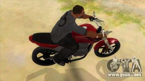 Honda Twister Stunt para visión interna GTA San Andreas