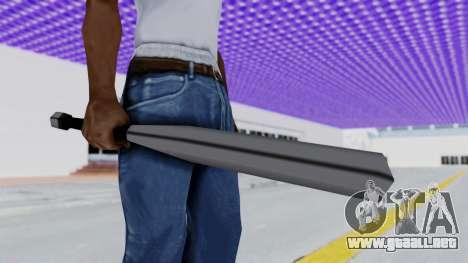 Liberty City Stories - Baseball Bat para GTA San Andreas segunda pantalla