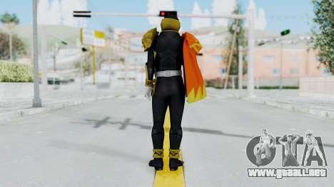 Kamen Rider Beast Falco para GTA San Andreas tercera pantalla