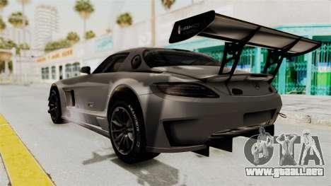 Mercedes-Benz SLS AMG GT3 PJ1 para GTA San Andreas left