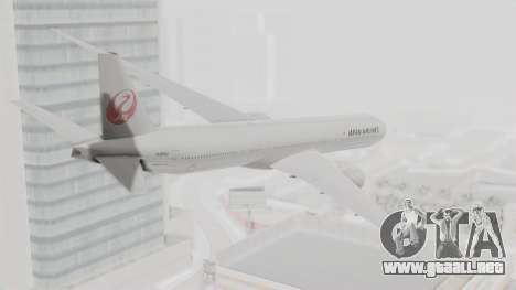 Boeing 777-9X Japan Airlines para GTA San Andreas left