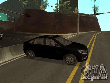 Lada Vesta para GTA San Andreas left