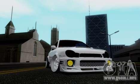 Subaru Impreza WRX STi Wagon Stens para GTA San Andreas