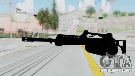 MG36 para GTA San Andreas segunda pantalla
