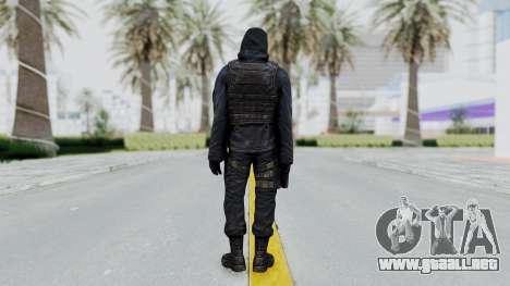 SAS No Gas Mask from CSO2 para GTA San Andreas tercera pantalla