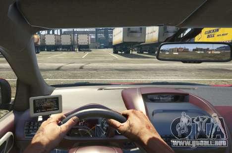 GTA 5 2011 Aston Martin Cygnet 1.0 [Replace] vista trasera
