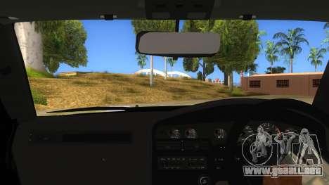 Toyota Supra 2.5Gt 1992 para visión interna GTA San Andreas