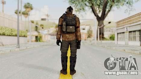 CoD AW KVA Shotgun para GTA San Andreas tercera pantalla