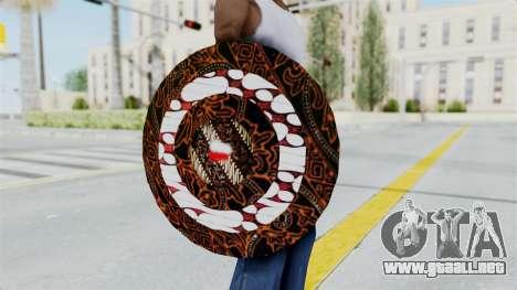 SpiderMan Indonesia Version Shield para GTA San Andreas tercera pantalla