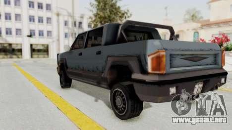 GTA 3 Cartel Cruiser para GTA San Andreas left