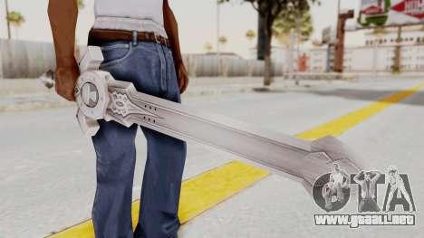 Horse Orphnoch Sword para GTA San Andreas tercera pantalla