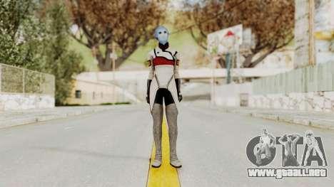 Mass Effect 2 Rana Thanoptis para GTA San Andreas segunda pantalla