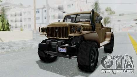 GTA 5 Bravado Duneloader Cleaner para la visión correcta GTA San Andreas
