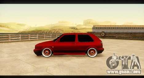 Volkswagen Golf GTI Mk2 para GTA San Andreas left