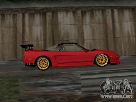 Honda NSX (NA1) Time Attack para GTA San Andreas left