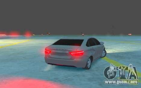 Lada Vesta para GTA 4 visión correcta