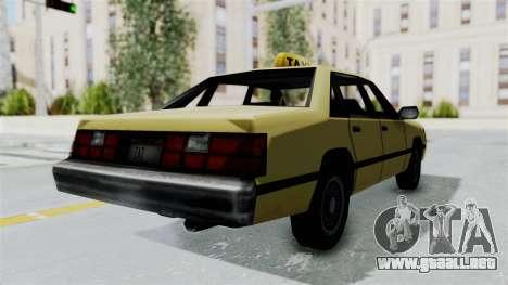 GTA Vice City - Taxi para GTA San Andreas left