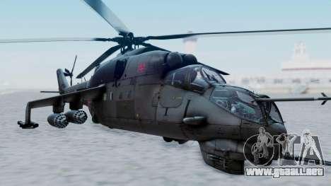 Mi-24V Russian Air Force 39 para GTA San Andreas