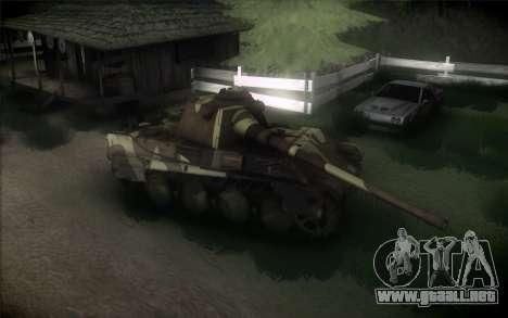 Panther II para GTA San Andreas vista posterior izquierda