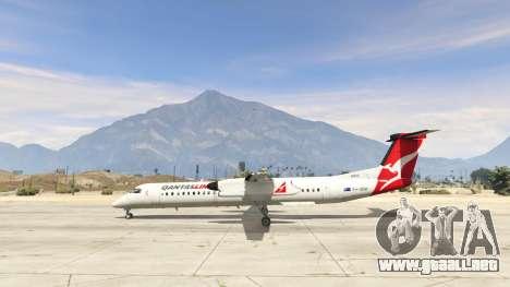 GTA 5 Bombardier Dash 8Q-400 segunda captura de pantalla