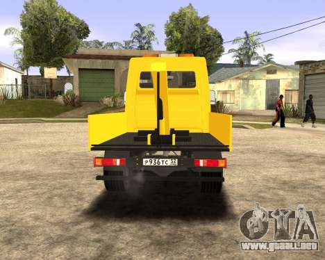 Mersedes-Benz Sprinter Towtruck para GTA San Andreas left