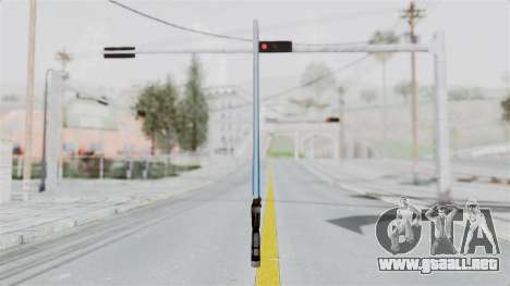 Star Wars LightSaber Blue para GTA San Andreas segunda pantalla