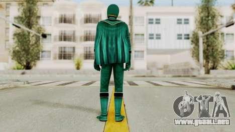 Power Rangers Mystic Force - Green para GTA San Andreas tercera pantalla